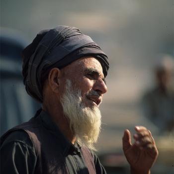 Old man Pakistan