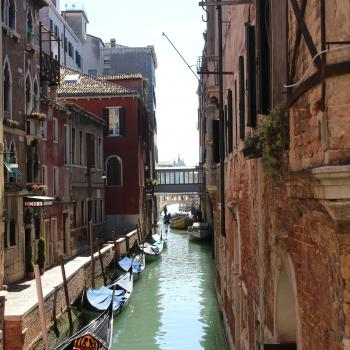 Typical Venetian Canal