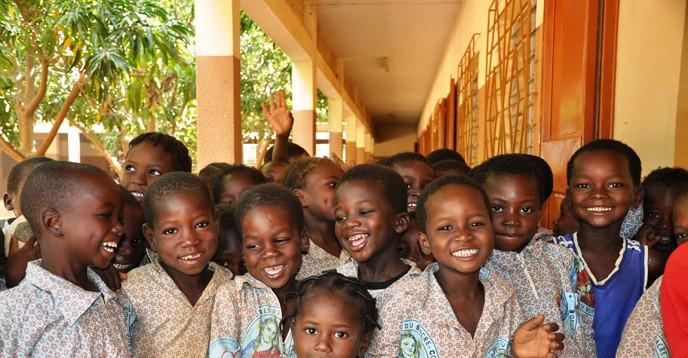 Ecole Sacré Coeur de Dapoya, au BurkinaFaso