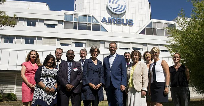 UNESCO and Airbus representatives launch the 2017 Fly your Ideas Competition
