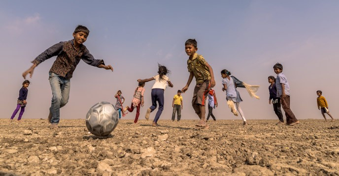 © UNESCO/Juventus - Prabha Jayesh (India) - Football run as one