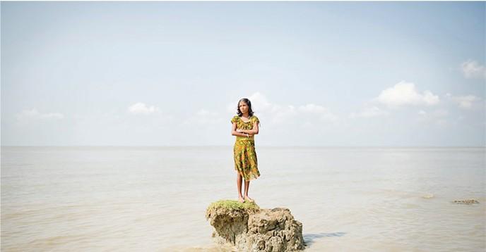 Los pequeños Estados insulares son vulnerables al cambio climático.