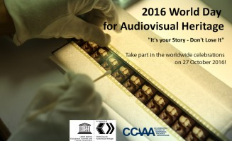 CCAAA - Official Website for the World Day for Audiovisual Heritage 2016